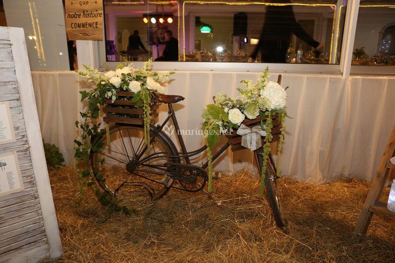 Vélo décoration