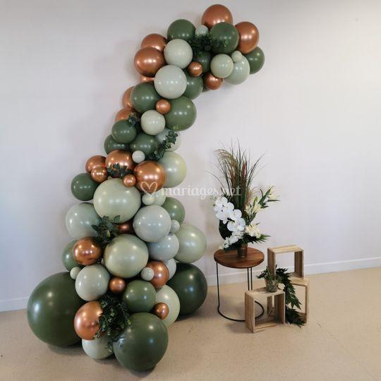 Arche olive, vert et bronze