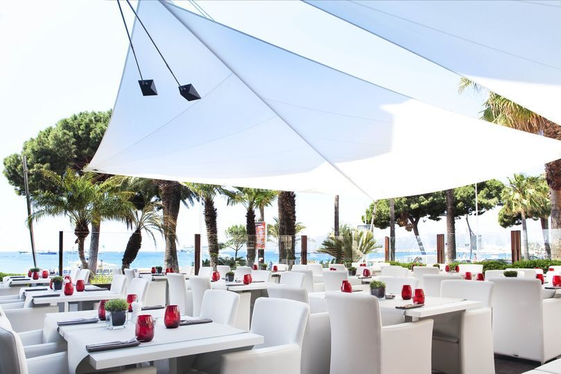 JW Grill Cannes Terrasse