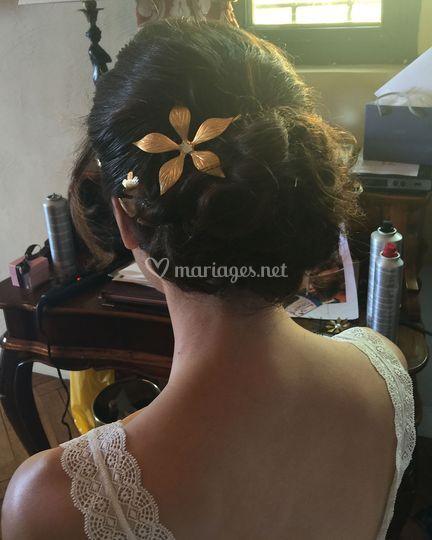 Préparation d'une mariée