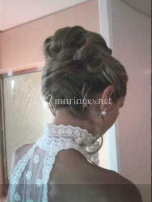 Coiffure mariée jour j de Beauty Wave