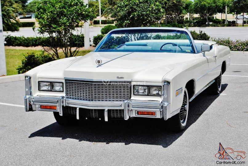 Cadillac Eldorado cabriolet 76
