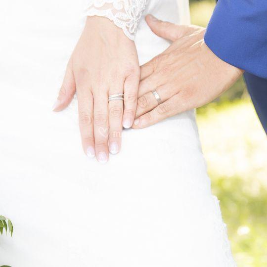 Bagues de mariés