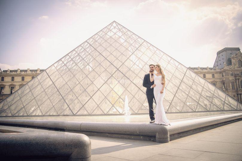 Mariés au Louvres
