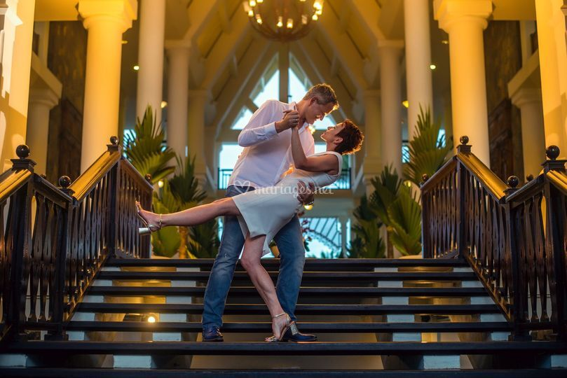 Photo shoot aprés mariage