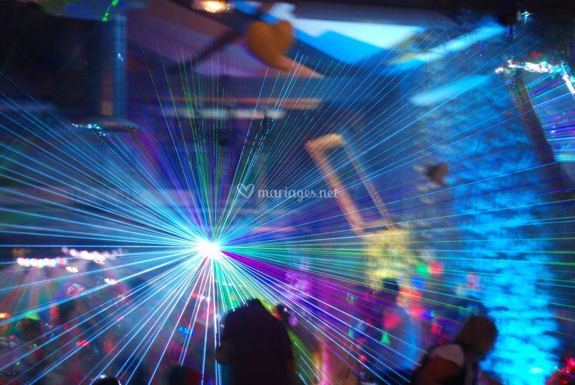 Un laser de 5w impressionant