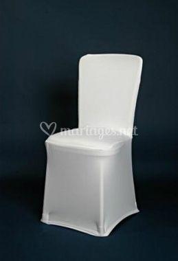 Housse de chaise en lycra extensible