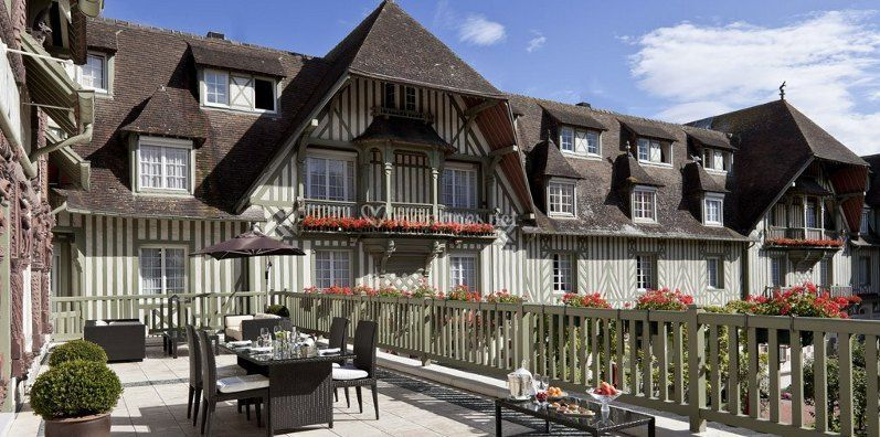 Normandy barriere deauville for Hotels deauville