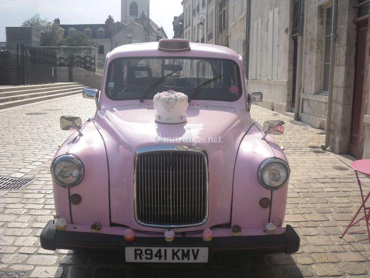 Taxi Anglais Rose
