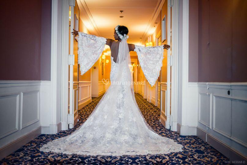 Mariée Carlton robe Belotti