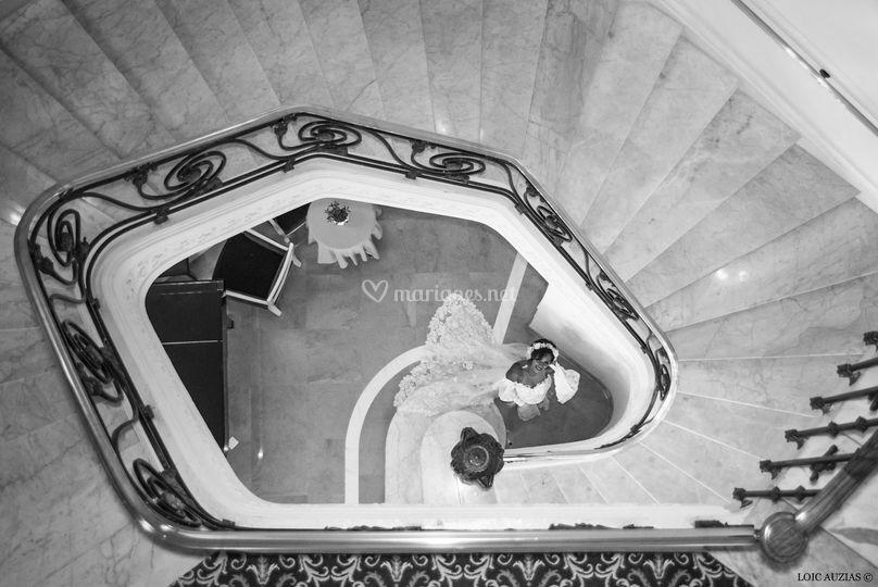 Escalier du Carlton Cannes