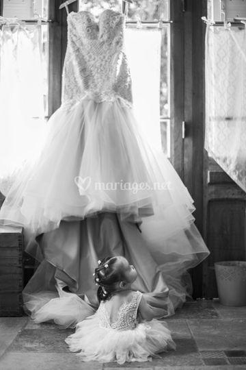 La robe et bébé