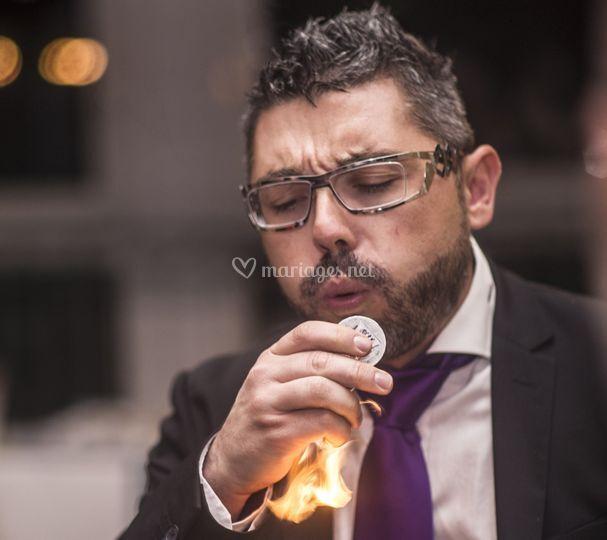 Magicien de close-up à lyon