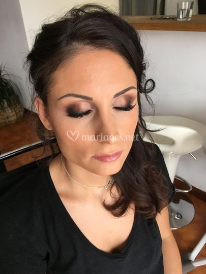 Maquillage soutenue