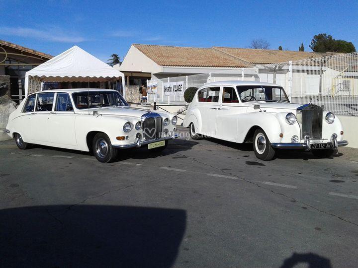 Daimler et Rolls limousine