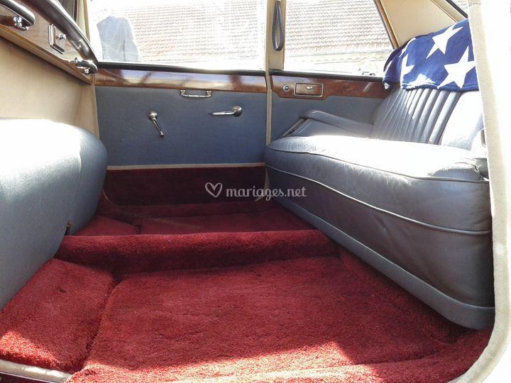 Intérieur Daimler limousine