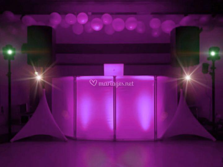 Sonorisation & éclairages