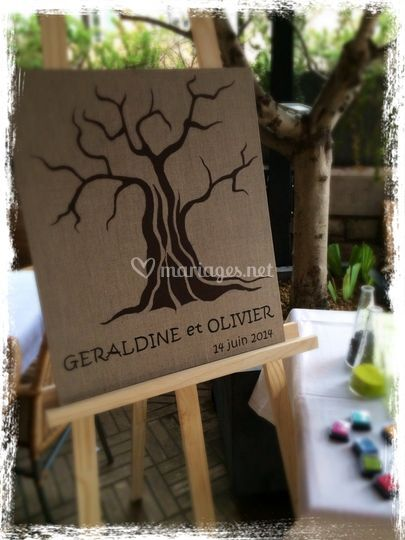 Rituel de l'arbre à empreintes