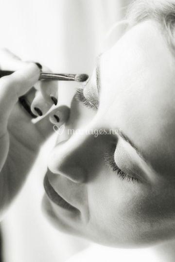 Préparatifs : maquillage