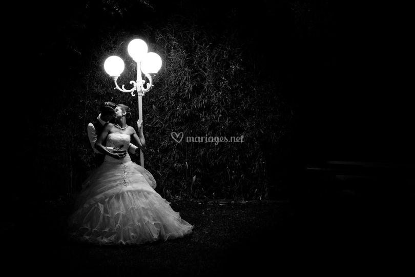 Photo de couple de nuit