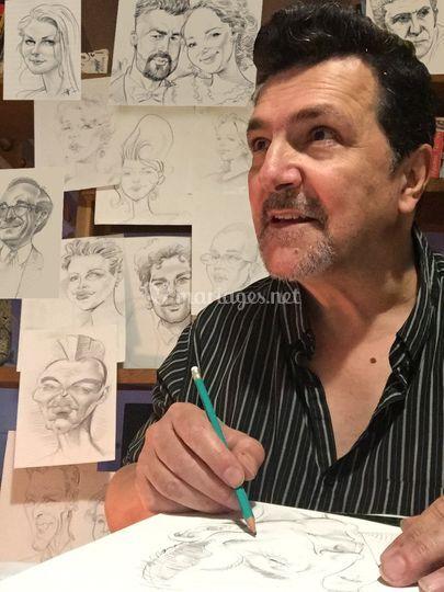 Monsieur Fifi - Portrait et Caricature