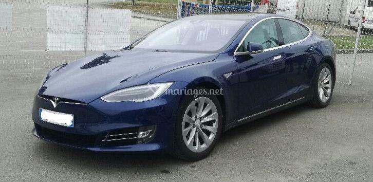 Model S bleue