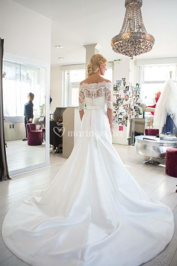 Une magnifique robe