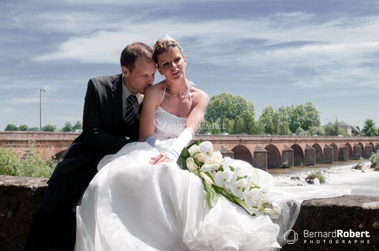 Nevers couple Pont de Loire