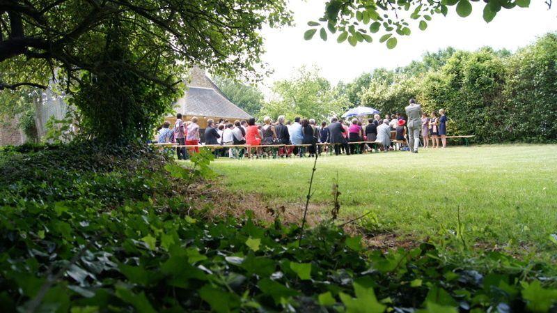 Jardin cérémonie mariage