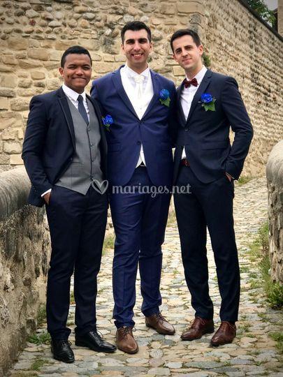 Témoins du marié