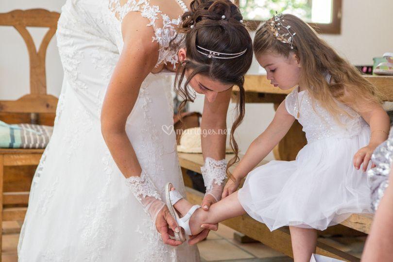Préparation des princesses