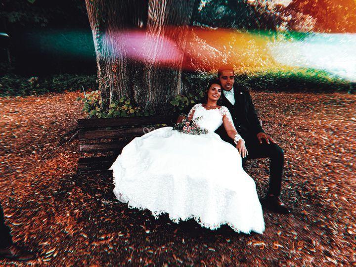 Mariage d'Aurore et Jeffrey.