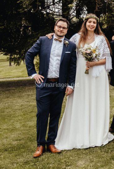 Châle mariée, A. Baudet Photo