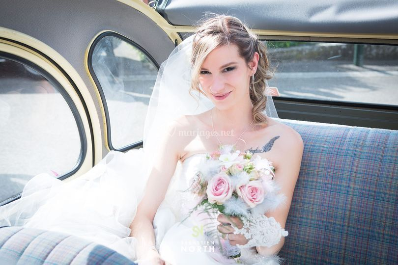 La mariée en 2CV