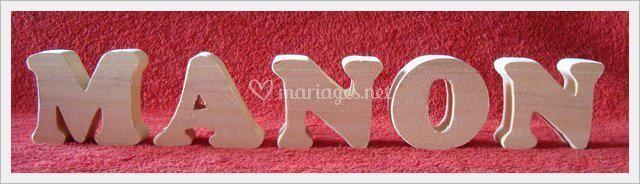 Creations avec petites lettres