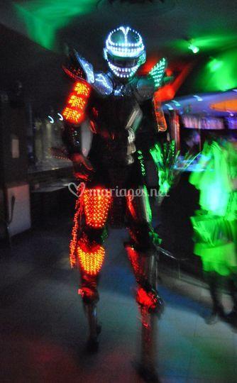 Robots a led