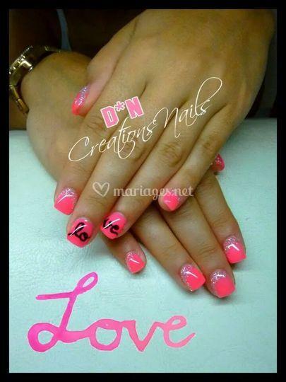 Dn cr ations nails for Pedicure salon de provence