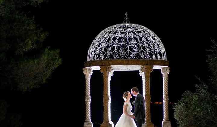 Temple d'amour - vue de nuit
