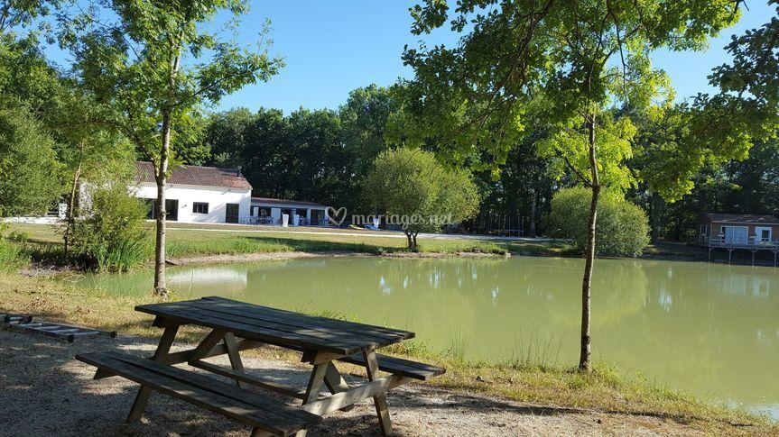 Vue de l'étang