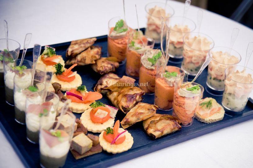 Pièces de cocktail