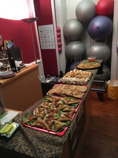 Buffet Asie-Orient groupe