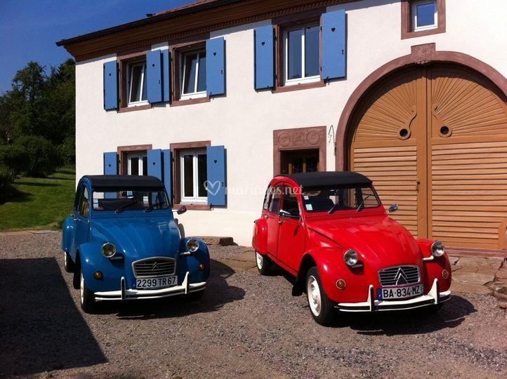 Nos 2 carrosses