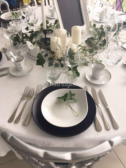 Table mariage printemps