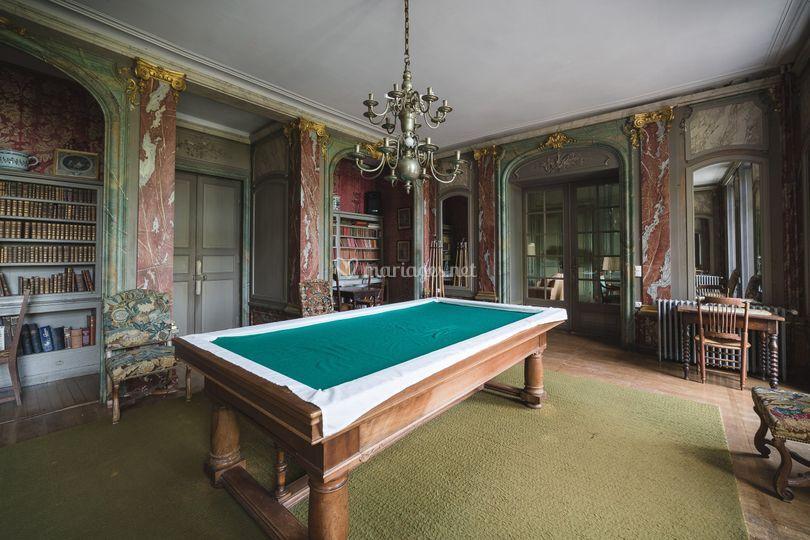 Château : billard