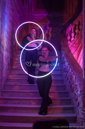 Spectacle LED - Hula hoop