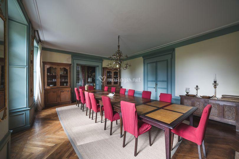 Château : salle à manger