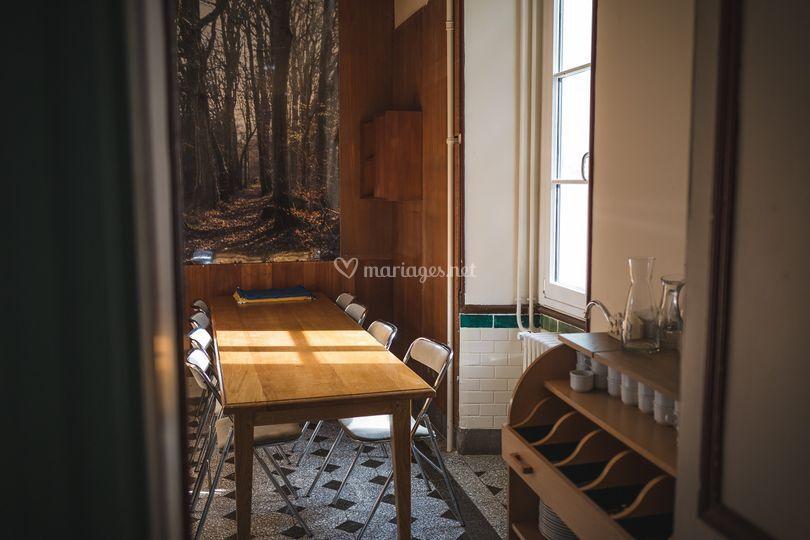 Château : petite salle à manger