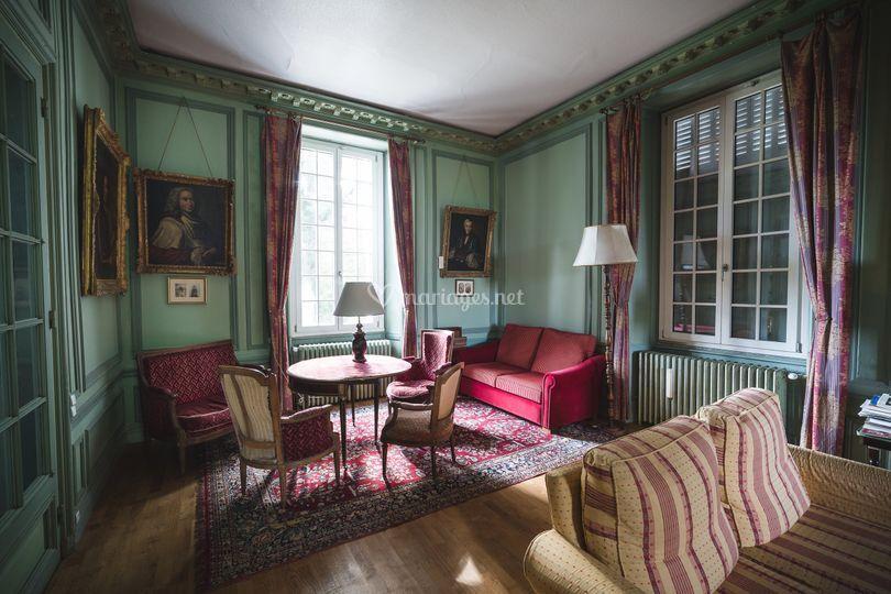 Château : salon