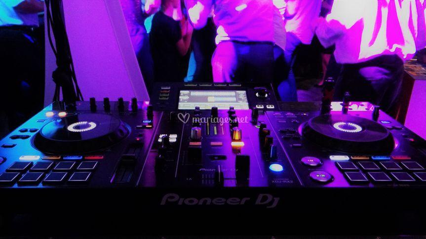 Régie professionnelle DJ