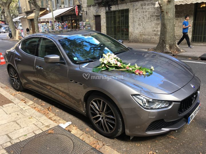 Maserati mariage Marseille
